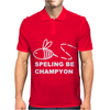 Spelling Bee Champion Mens Polo