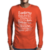 Spells Mens Long Sleeve T-Shirt