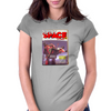 Spicy Space Stories Womens Fitted T-Shirt