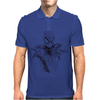 Spider-Man art Mens Polo