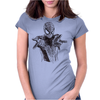 Spider-Man art Womens Fitted T-Shirt