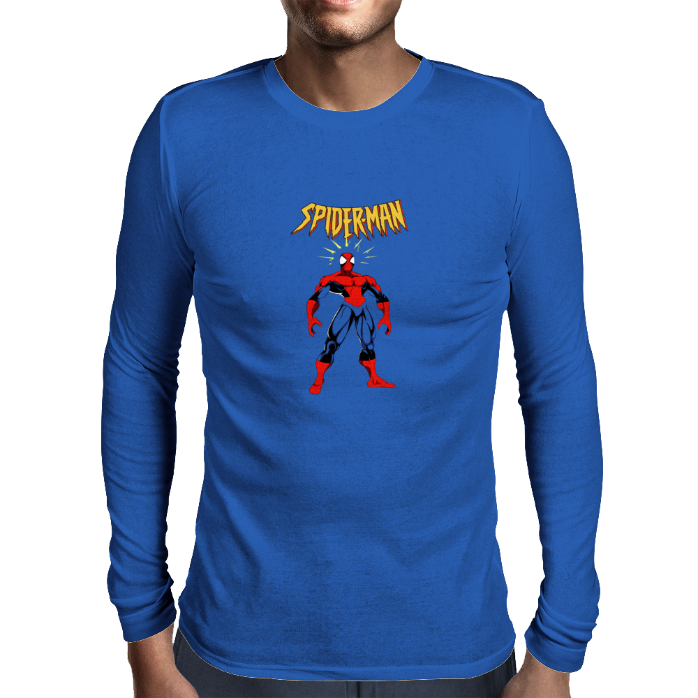 Spider Man Mens Long Sleeve T-Shirt