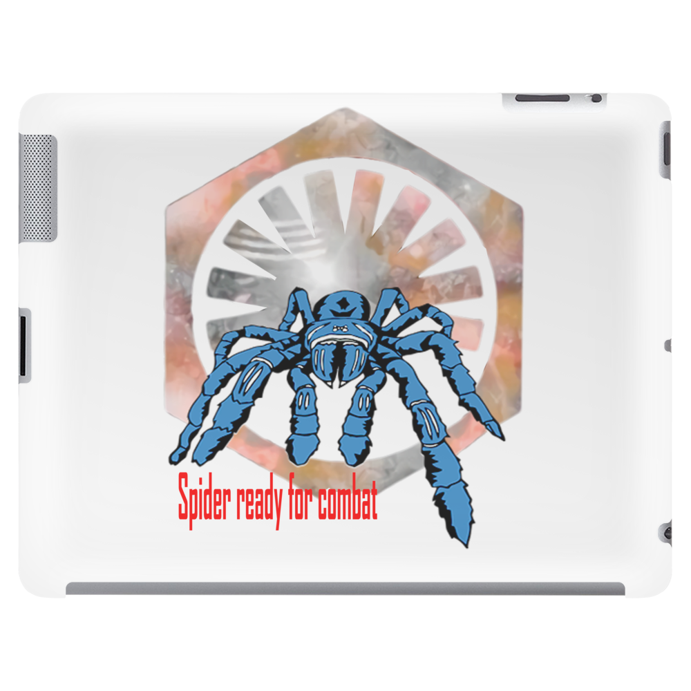 Spider ready for combat Tablet