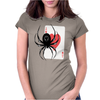 Spider Solitaire Vista Womens Fitted T-Shirt