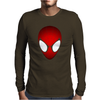 SPIDEY HEAD Mens Long Sleeve T-Shirt
