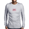 Spiken Blood Stripes Script Logo  Mens Long Sleeve T-Shirt