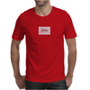 Spiken Blood Stripes Script Logo  Mens T-Shirt
