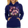 Spinel Stars (Les Chrysanthemes) Womens Hoodie