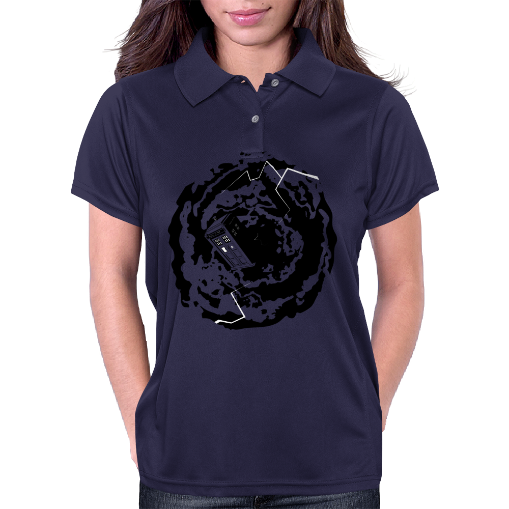 Spinning TARDIS - Doctor Who Womens Polo