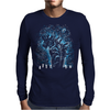 Spirits In The Night Mens Long Sleeve T-Shirt