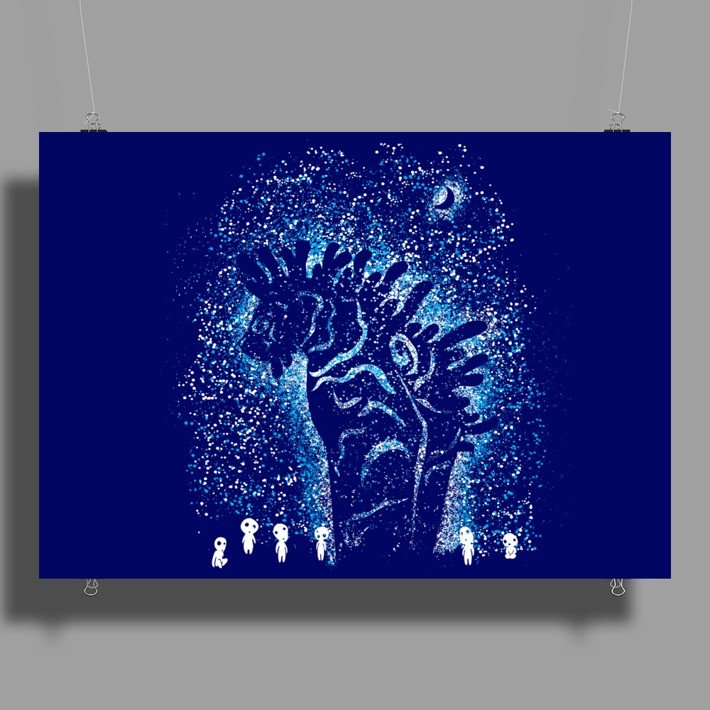 Spirits In The Night Poster Print (Landscape)