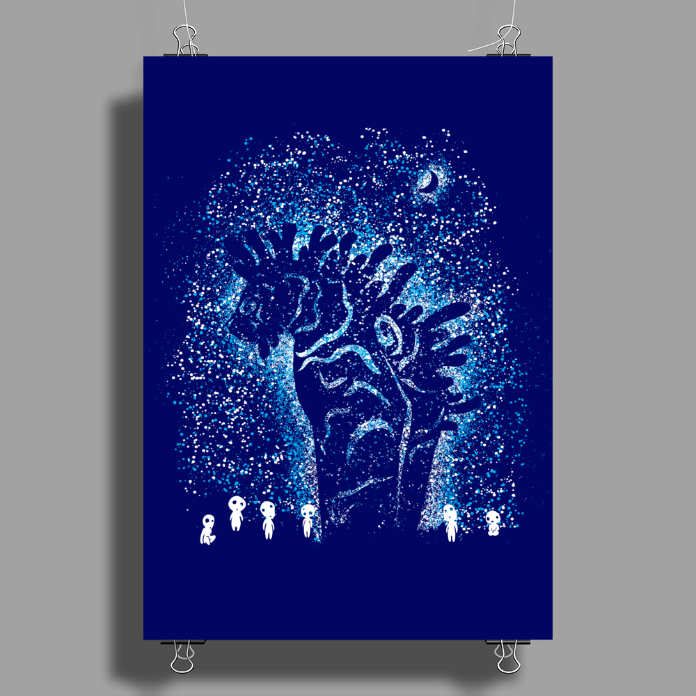 Spirits In The Night Poster Print (Portrait)