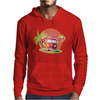 Splitty on surfboard Mens Hoodie