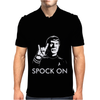 Spock On Star Trek Mens Polo