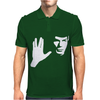 SPOCK STAR TREK LEONARD NIMOY TRIBUTE Mens Polo