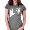 SPOCK STAR TREK LEONARD NIMOY TRIBUTE Womens Fitted T-Shirt