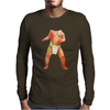 spoof 3D baby Body Mens Long Sleeve T-Shirt