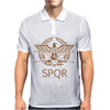 Spqr Roman Eagle Mens Polo