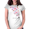 Spread Love 1 Womens Fitted T-Shirt
