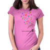 Spread Love everywhere you go. Womens Fitted T-Shirt
