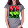 Squares Womens Fitted T-Shirt