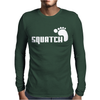 SQUATCH FOOTPRINT funny Mens Long Sleeve T-Shirt