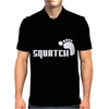 SQUATCH FOOTPRINT funny Mens Polo