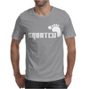 SQUATCH FOOTPRINT funny Mens T-Shirt