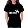 SQUATCH FOOTPRINT funny Womens Polo