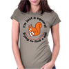 Squirrel Nut (Married) Womens Fitted T-Shirt