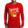 Squirrels Rule Mens Long Sleeve T-Shirt