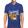 Squirrels Rule Mens Polo