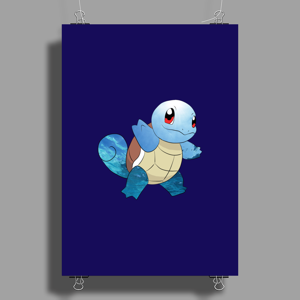 Squirtle Poster Print (Portrait)