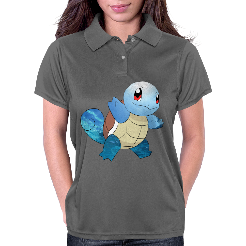 Squirtle Womens Polo