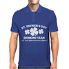 St Patricks Day Drinking Team Mens Polo