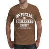 St Patrick's Day Official Drinking Shirt 2015 Mens T-Shirt