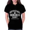St Patrick's Day Official Drinking Shirt 2015 Womens Polo