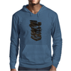 Stack of Retro Cassette Tapes Mens Hoodie