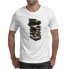 Stack of Retro Cassette Tapes Mens T-Shirt