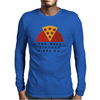 Stacked Pizza Mens Long Sleeve T-Shirt