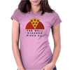 Stacked Pizza Womens Fitted T-Shirt