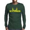Stag Mens Long Sleeve T-Shirt