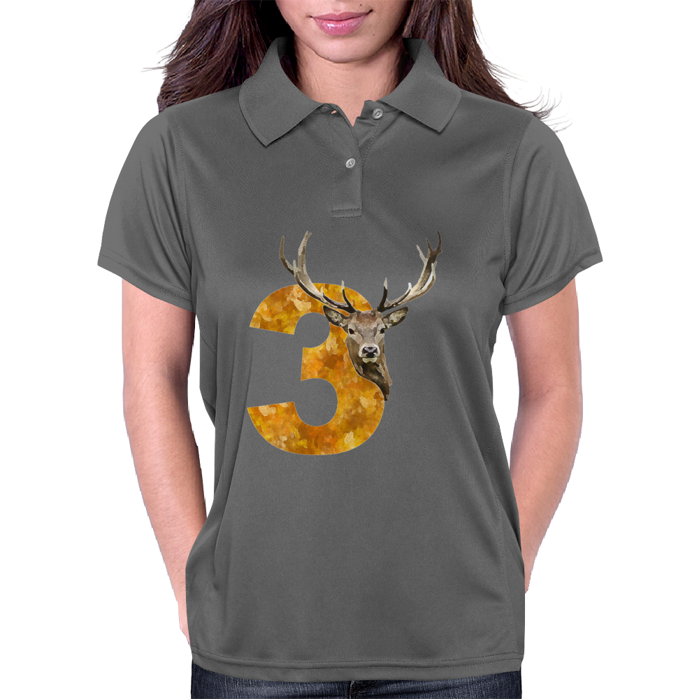 Stag No.3 Womens Polo