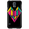Stained Glass Heart Phone Case