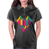Stained Glass Heart Womens Polo