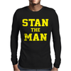 Stan Wawrinka Tennis Wimbledon US Mens Long Sleeve T-Shirt