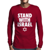 Stand With Israel Mens Long Sleeve T-Shirt