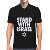 Stand With Israel Mens Polo