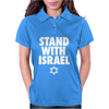 Stand With Israel Womens Polo