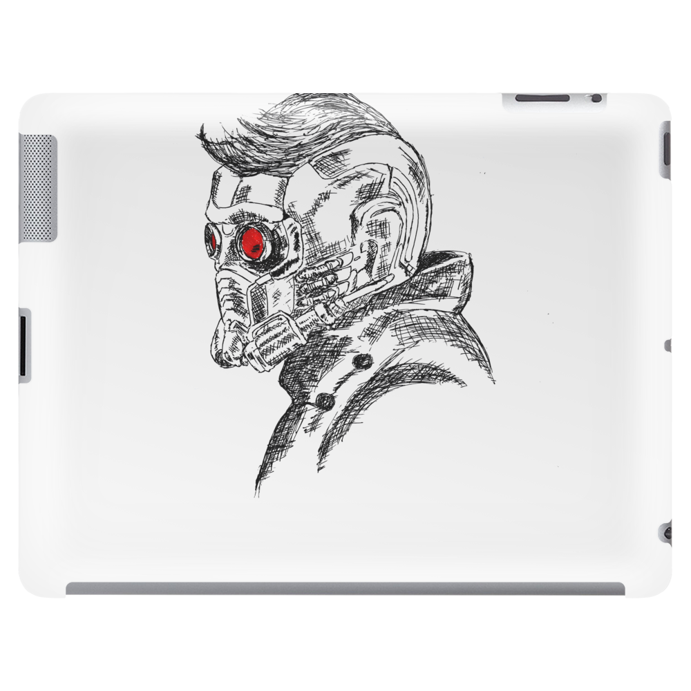 Star Lord art Tablet (horizontal)
